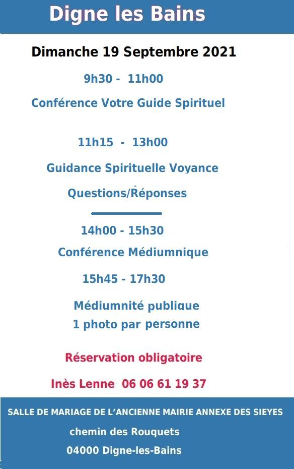 Conference digne 1